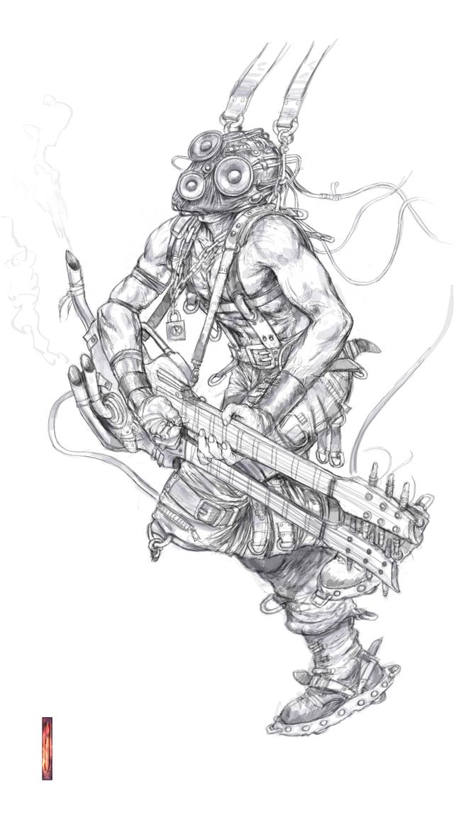 Early concept, Doof warrior