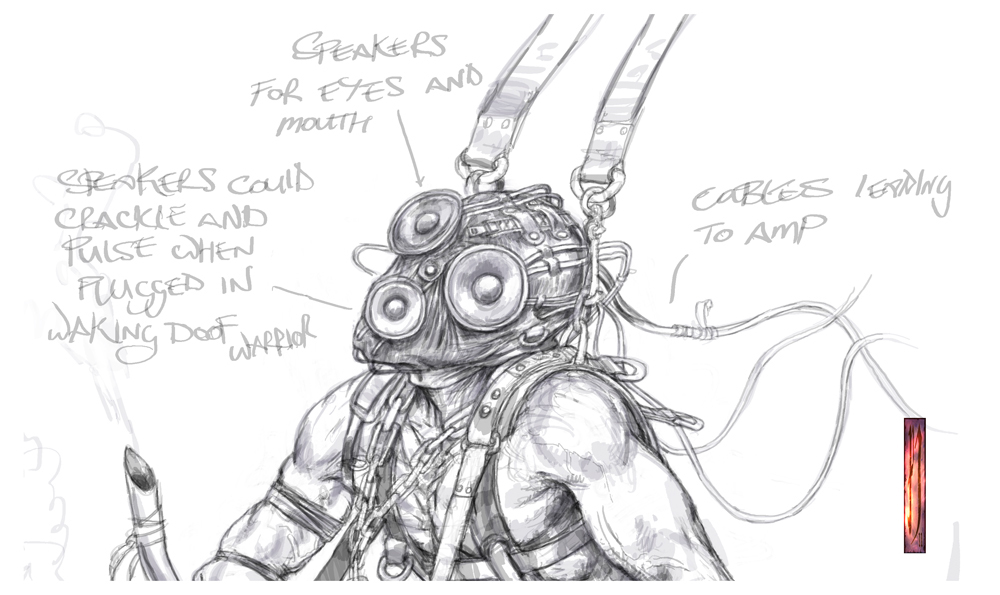 Early concept, Doof warrior