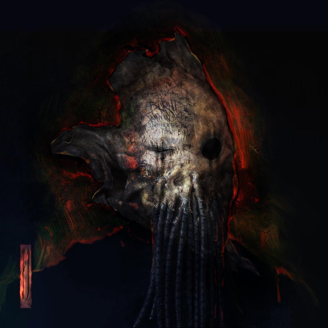 Doof warrior prop mask