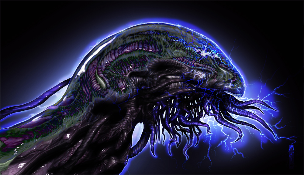 Electric eel alien 2