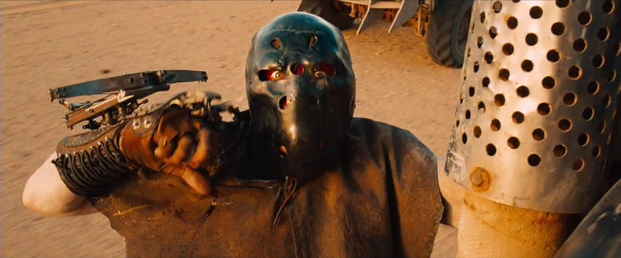 How the mask appeared in Fury road