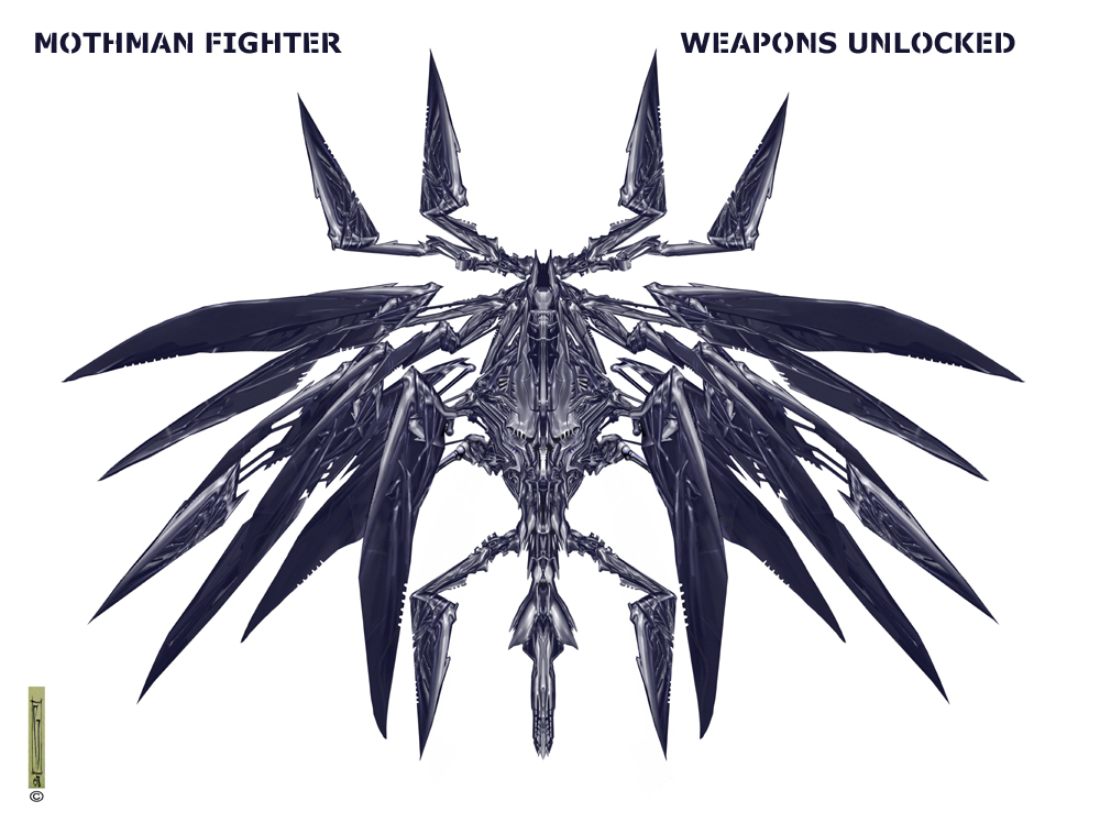 Mothman fighter weapons unlocked