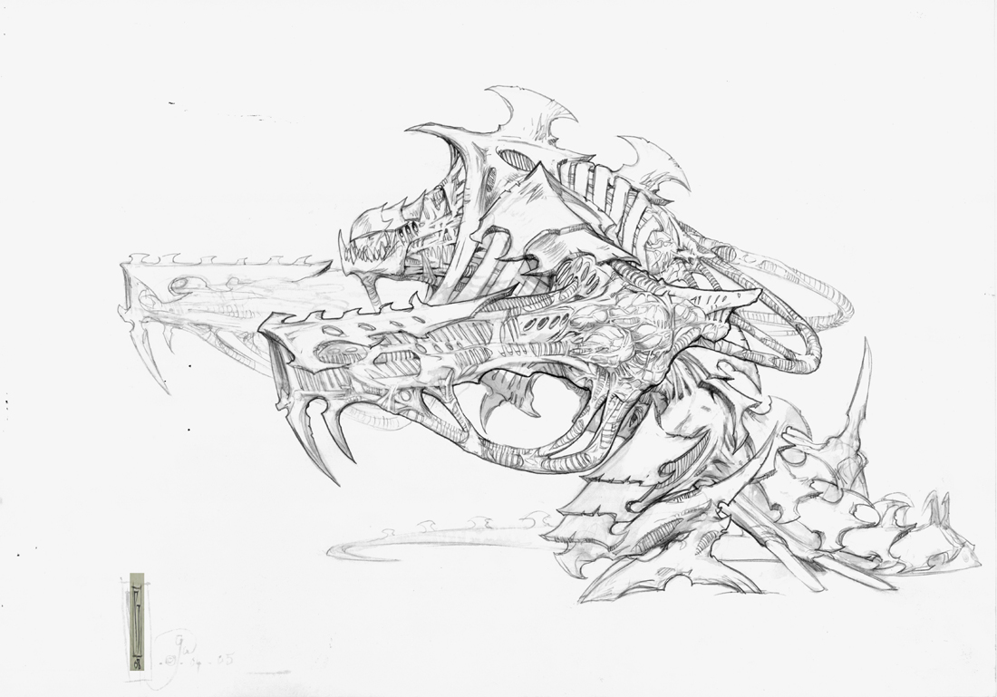 GW Tyranid, figure concept
