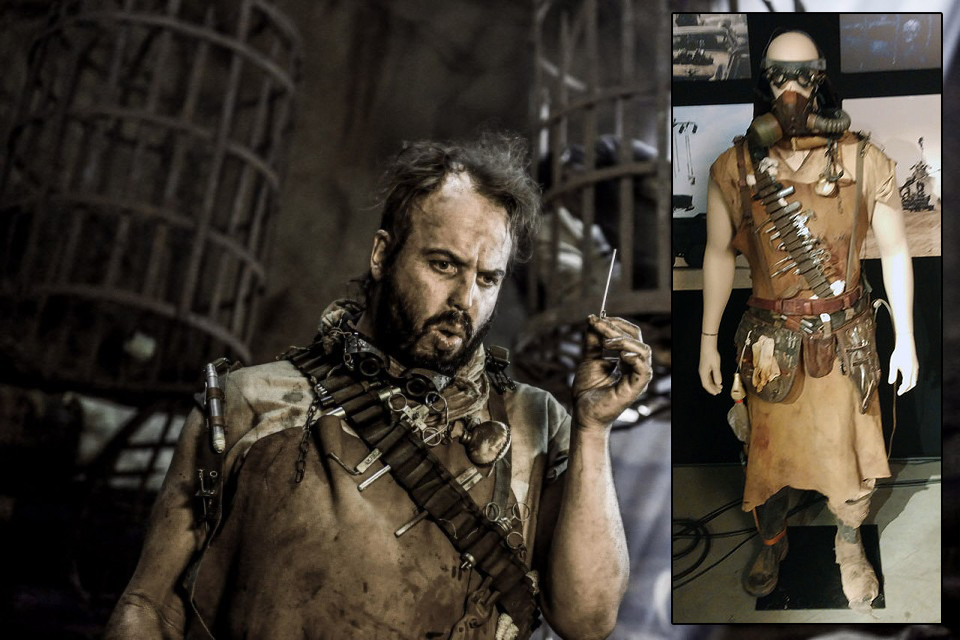 The Organic mechanic as he appeared in 'Fury Road'